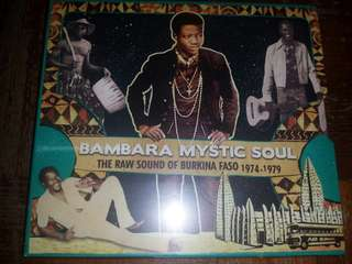 Music CD (Sealed): Various ‎– Bambara Mystic Soul - The Raw Sound Of Burkina Faso 1974-1979
