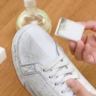 Magic sponge eraser for bags and shoes
