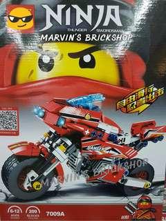 For Sale Latest NINJAGO Motorcycle with Minifigures