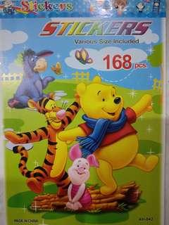 Winnie the Pooh with friends Sticker book