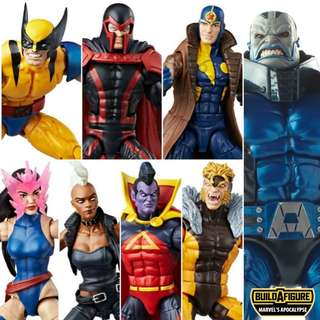 Hasbro Marvel Legends X-Men Apocalypse BAF Wave Singles NO BAF