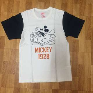 MICKEY MOUSE SHIRT FROM UNIQLO