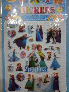 Frozen 3D Sticker