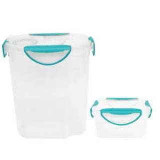 CLIP FRESH CONTAINERS QB1217 (520ML + 3.0L) CLIPFRESH FOOD STORAGE CONTAINERS