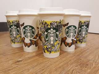 💯% Authentic Starbucks Reusable cup