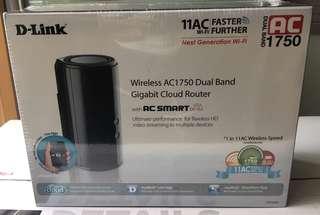 DLink AC1750 wireless dual band gigabit cloud router DIR 868L