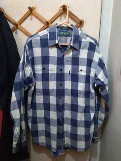 Chekered Levi's Polo/Flannel