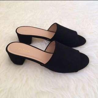 Zalora Mules/Slip On Mid Heels