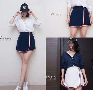 White Sporty Skirt