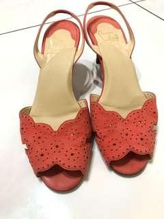 真品Christia louboutin 涼鞋