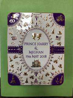Prince Harry & Meghan Collectible (Royal Wedding Biscuit Tin)