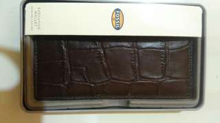 Fossil wallet Omega Executive
