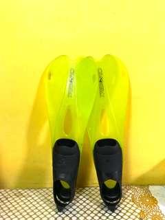 Flippers Scuba Diving
