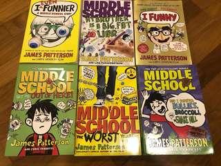 Preloved James Patterson Novels