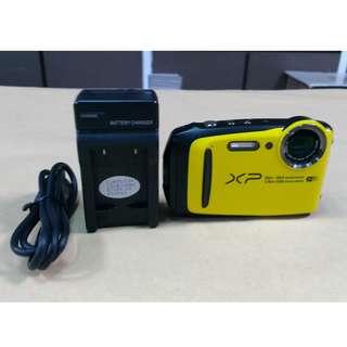 🚚 天生拍賣_FUJIFILM FinePix XP120 黃 數位相機 (附16G記憶卡)