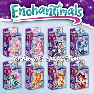 For Sale Latest Enchantimals 8in1 Minifigures