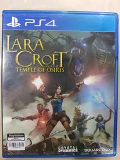 PS4 Game - Lara Croft And The Temple of Osiris
