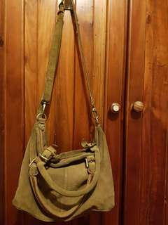 Urban outfitters ecote bag brown suede