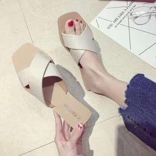 🚚 脫涼鞋ㄧ字拖