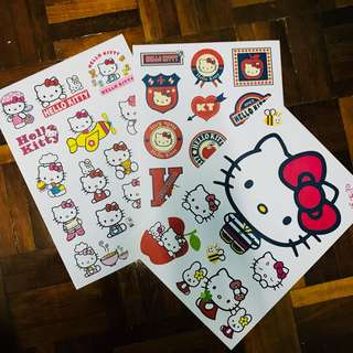 A4 size Hello Kitty Sticker
