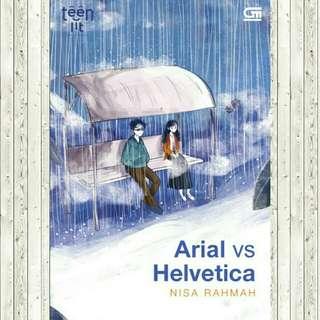ebook - Arial vs Helvetica