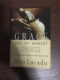 Grace for the Moment—Lucado