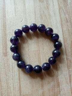 🚚 天然紫水晶手珠