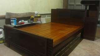 Narra bed frame