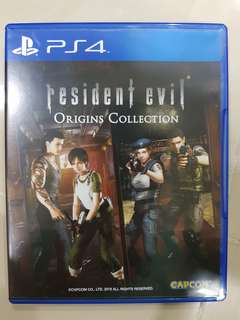 PS4 Game - Resident evil Origins Collection