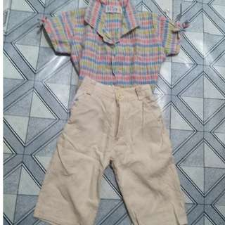 Terno polo+pants