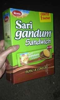 1 paket isi slai Olai & sari gandum