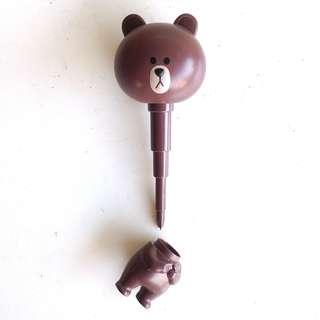 LINE 熊大! 頭身分離原子筆