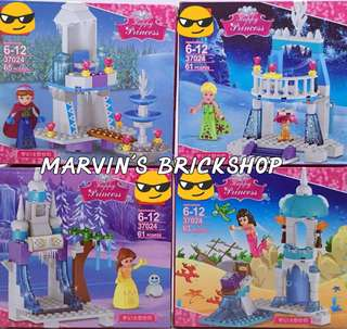 For Sale Princess 4in1 set Building Blocks Toys