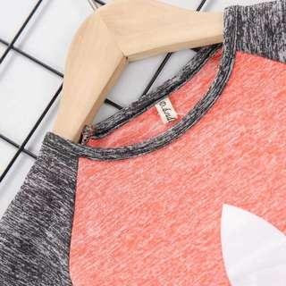 😊爆款三葉草印花圖案運動套裝