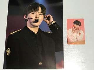 Wanna One Premier Fan-Con PhotoCard Full Set (Ha Sungwoon)