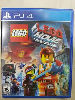 PS4 Game - Lego Movie
