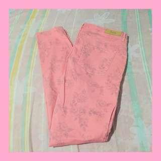 Original Zara Pink Trafaluc Pants