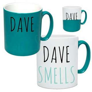 Customized magic mugs