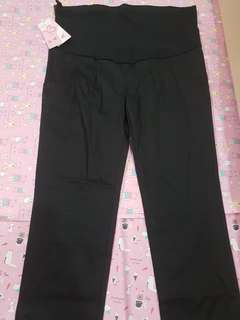Black long Maternity Pants XL 2 FOR RM100