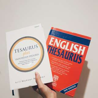 Engish Thesaurus/ Tesaurus
