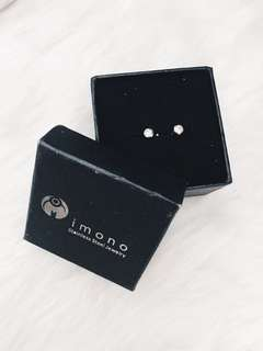 imono stainless steel jewelry earrings