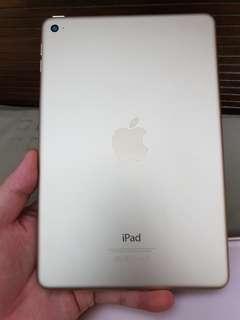 Ipad mini 4 16gb gold color