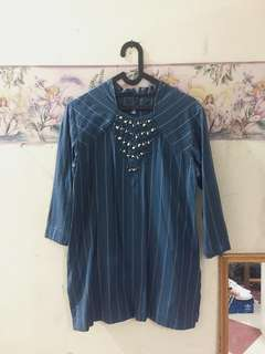 Navy Blue Irish Tunic