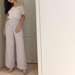 高腰氣質寬褲