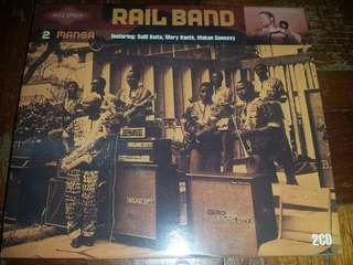 Music CD (2xCD): Rail Band –2 Mansa