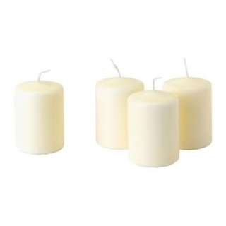 4 pcs 8cm candle
