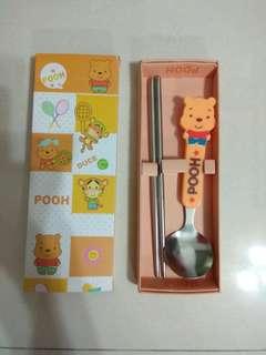 Pooh Bear Cutlery Set