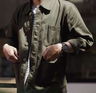 Coverall jacket by paperfeed