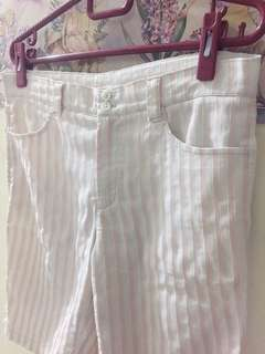 Stripe Pink Short