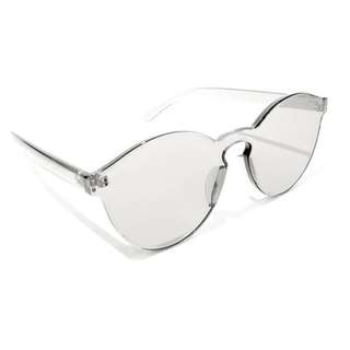 [JUAL RUGI] Jelly Sunglasses Transparent Bonus Box Kacamata